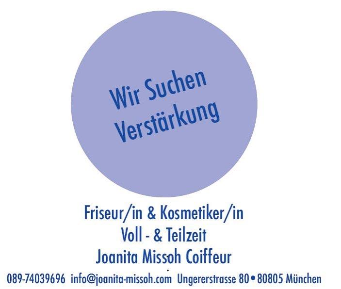 Mitarbeiter Job Stellen Angebot Ethnic Hair Beauty München Joanita